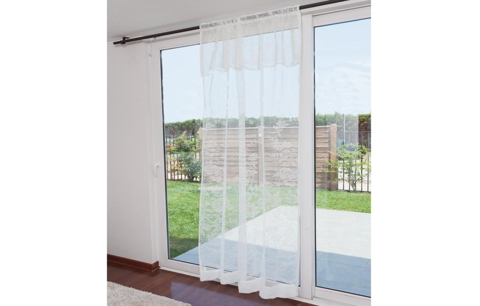 cortinas de visillo